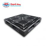 Pallet Nhựa 1100x1100x150mm đen mua ở đâu giá tốt?